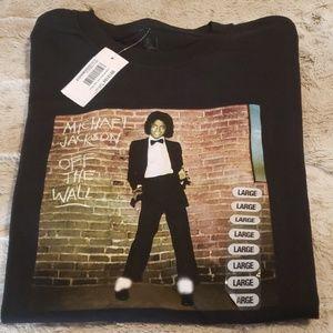 """NWT - Michael Jackson """"Off The Wall"""" Tee-Shirt"""